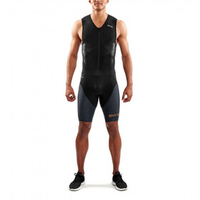 Skins DNAmic Triathlon Skinsuit with Front Zip Women, black/carbon